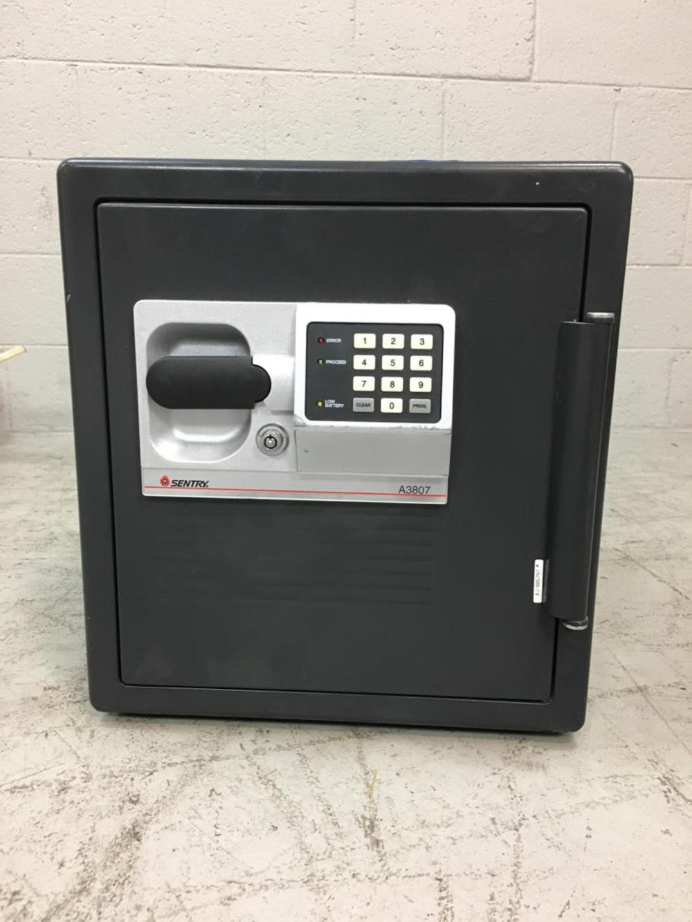 Sentry Electric Combination Floor Safe