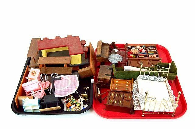 Lot of Doll House Furniture