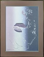 Seabourn (ne 1931) Ltd Native American Lithograph