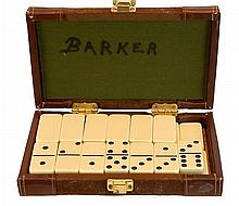 Vintage Cased Domino Set