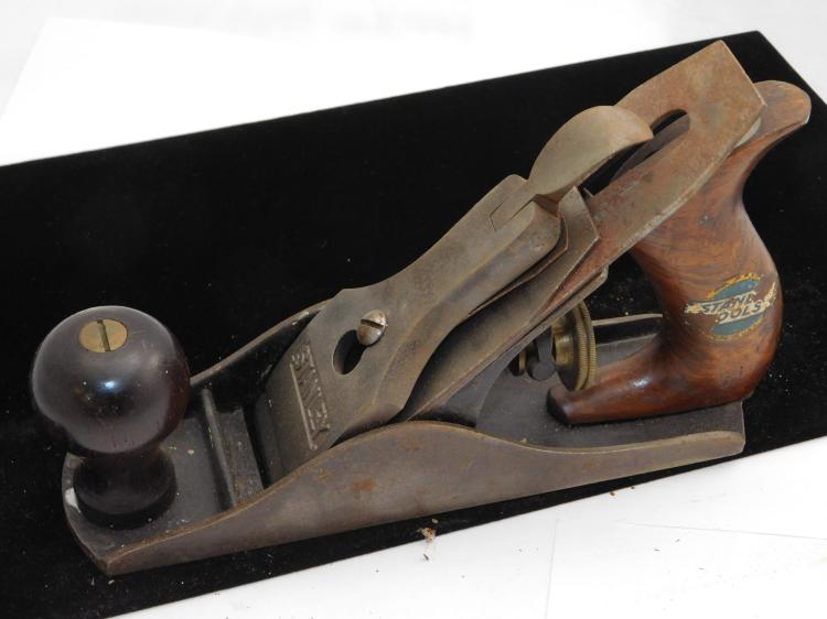 Stanley No 2 Wood Plane With Sweetheart Blade