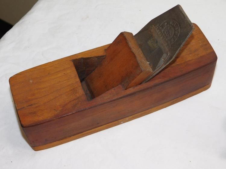 Antique B And O Liberg Rosenfors Pre Lateral Wood Base Smoothing Plane