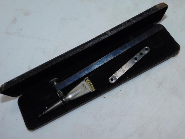 Lufkin No 199 Horizontal Test Indicator In Case