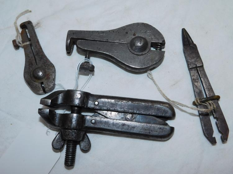 Lot Of Goodell Pratt Hand Vise Clamp A. Dudly Mfg Co Spoke Wrenches