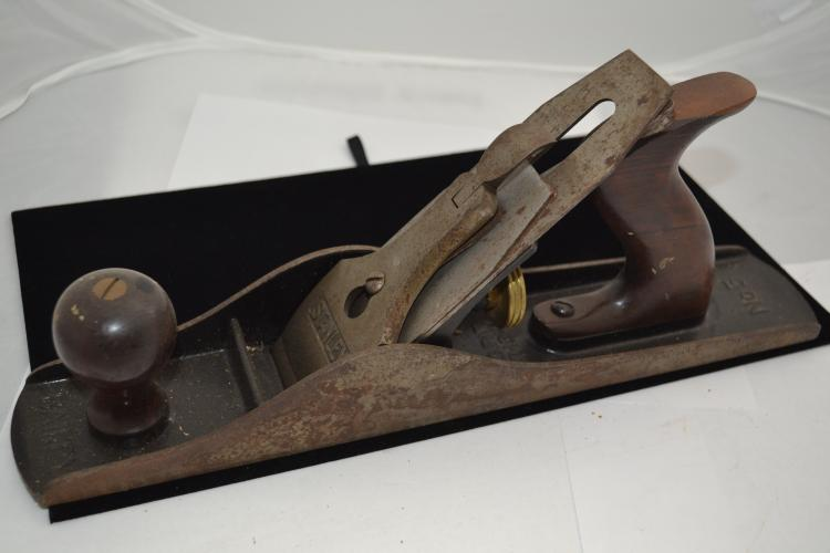Stanley Bailey No 5 Corrugated Sole Plane With Y Trademark Blade