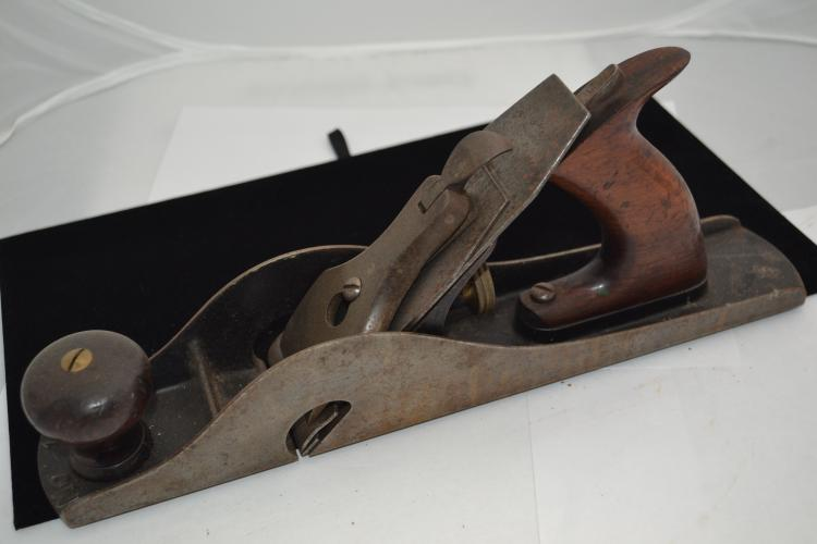 Stanley No 10 Carriage Makers Rabbet Plane With J Trademark Blade