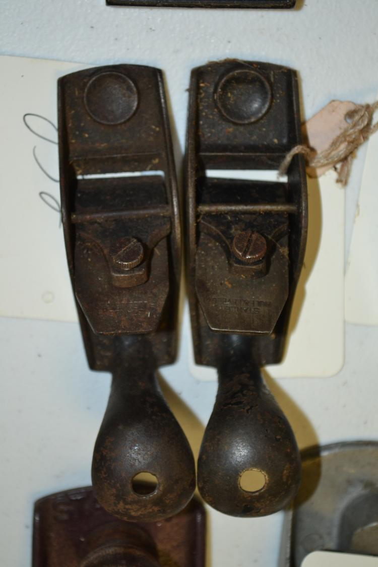 Vintage Stanley Rule And Level Co Squirrel Tail Block Plane