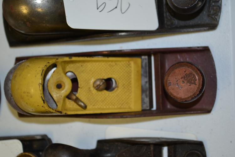 Two Tone By Stanley Block Plane With Yellow Lever Cap