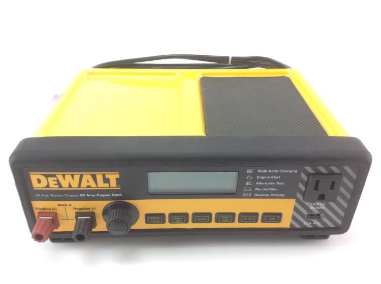 Dewalt 30 amp battery charger leather gold tool pouch