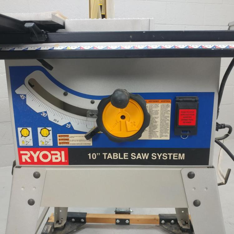 Ryobi 10 Table Saw System