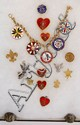 Lot of Boy Scout Pins, Medals, Rings