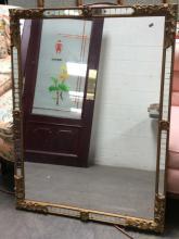Gilt & Mirror Tile Framed Mirror