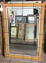 Hand Painted Hanging Mirror Panel