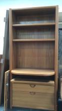 Secretary's Desk w/ Shelves & Door