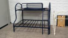 Powder Coated Full & Twin Bunk Bed Frame
