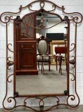 Iron Hanging Mirror