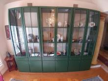 20th C. Hulsta Ebzimmer Wall Cabinet