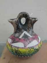 Navajo Horsehair Pottery, Yolanda Willie