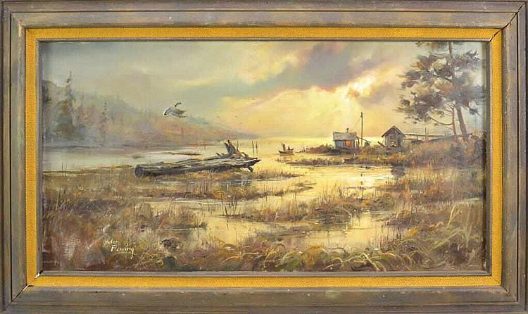 Hulan fleming artwork for sale at online auction hulan for Artworks for sale online