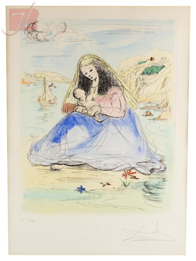 Salvador Dali 1904 1989 Quot Madonna Amp Child Quot Ltd Ed