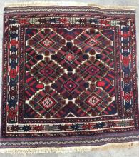Khan International Hand Woven Flat Weave Area Rug
