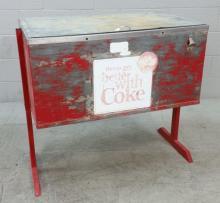 Vintage Coca Cola Ice Chest