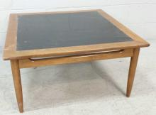 Mid-Century Modern Inlayed Coffee Table