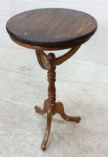 20th C. Round Pedestal Accent Table