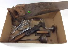 Hand Tools - Wrenches, Oiler, Saw, Manual Drill