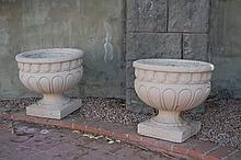 Pair of Garden Urns