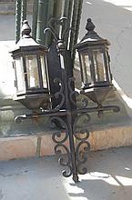 Dual Lantern Light Fixture