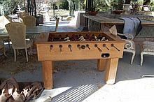 Oak Foosball Table