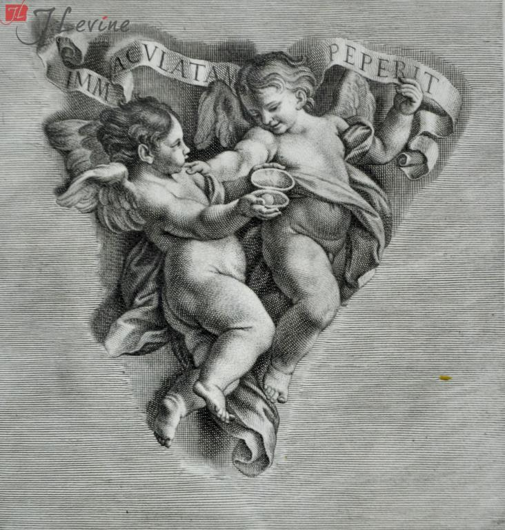 Giovanni Girolamo Frezza (1659–1730) Two Angels