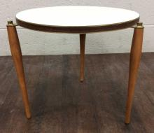 Mid-Century Modern Formica Top Side Table