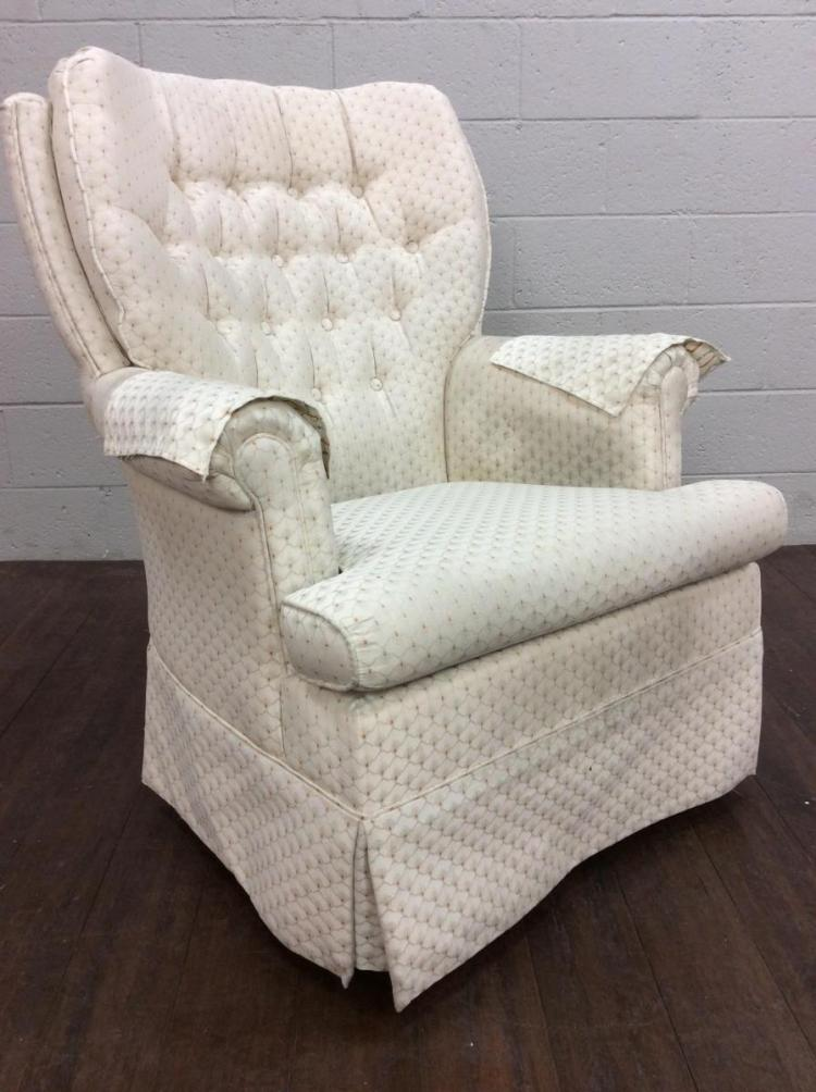 Town Square Tufted Upholstered Glide Rocking Chair