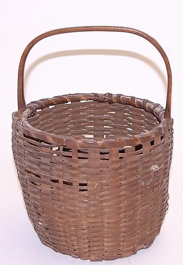 Egg-Gathering Basket from Ellis Family ME
