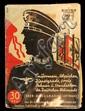 1938 Nazi Officer's Booklet