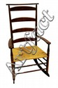 Contemporary Shaker style rocking chair.