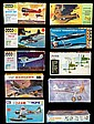 Set of 10 Vintage Model Aircraft Kits