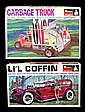 Vintage Garage Truck & Lil' Coffin Model Kits