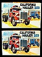 Vintage California Hauler 359 Model Kits (2)