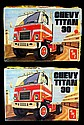 Vintage Chevy Titan 90 Model Kits (2)