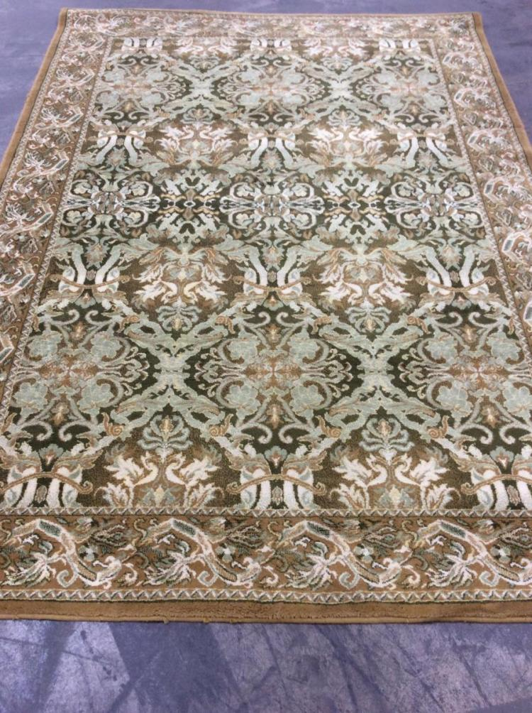 Terraghan Worsted Wool Persian Style Area Rug