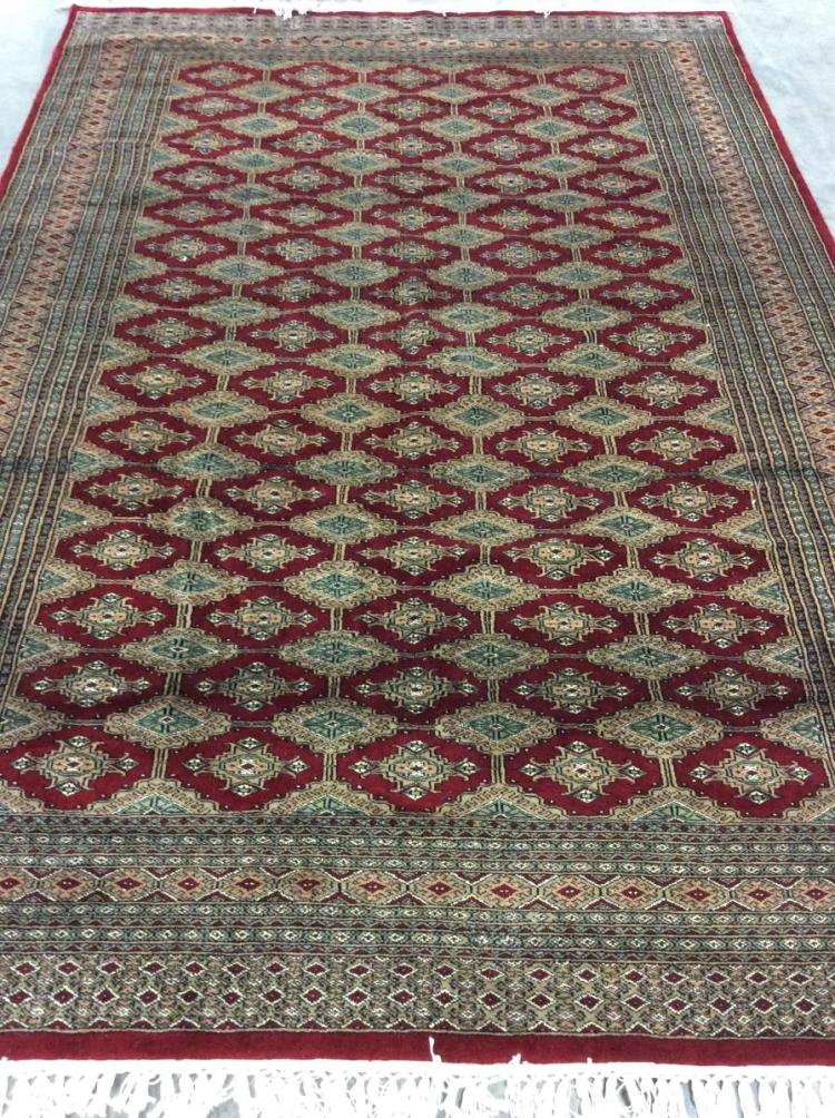 Handwoven Bacara Wool Area Rug