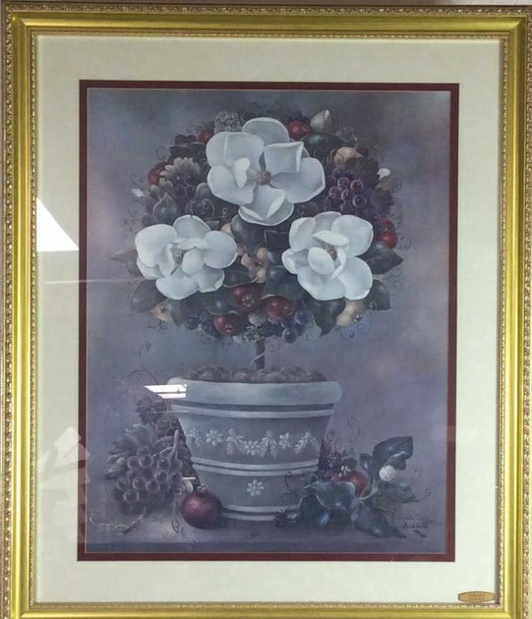 Glynda turley signed ltd ed still life print for Glynda turley painting