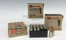 75Pc. Hornady 9mm Luger Defense Hollow Points