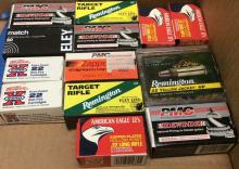 628Pc. Assorted Brand .22 Long Rifle Ammunition