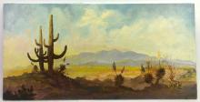 William T. Zivic Tuscon Arizona Oil on Canvas