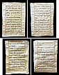 2 Antique Vellum Pages, In Fest Sanguinis Christi