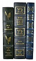(3) Easton Press Signed 1st Edition Leather Books